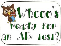This file includes printables for you to create an AR reading sign up board for test takers.