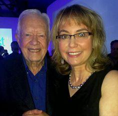 President Jimmy Carter & Congresswoman Gabby Giffords.