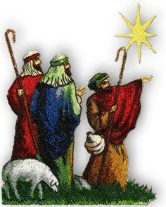 Advanced Embroidery Designs - Three Wise Men rey mago, nativ art, wise men, machin embroideri, los tres, nativ scene, tres rey, embroidery designs, three wise