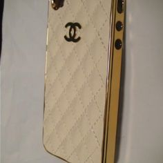 My new Chanel iPhone case. LOOOVE
