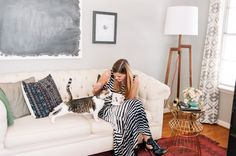 Office Tour With Katie Anderson of Modern Eve | theglitterguide.com  Office space & Decor