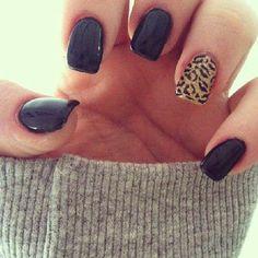 Cheetah nails #ipsy