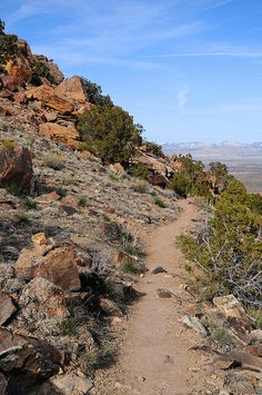 Rabbits Ear trail, Rabbit Valley area of McInnis Canyons National Conservation Area in Western Colorado
