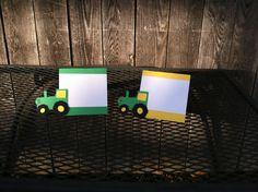 Tractor/John Deere Inspired Food Label/Food by PoppopsPeanut, $13.50