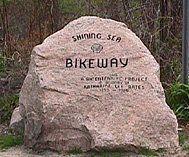 Cape Cod Shining Sea Bikeway (SSB) on Cape Cod, Massachusetts. Bike Path in North and West Falmouth, Woods Hole and Falmouth Station - Cape Cod Bike Guide