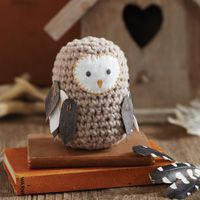 Crochet owl tutorial