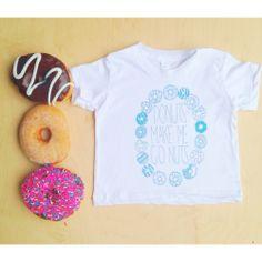 6MO-6YR Donuts Make Me Go Nuts Tee olivia harper, thing nice, kid stuff, child play, play dress