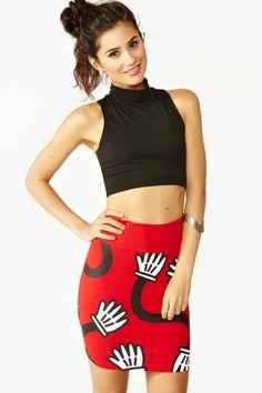 Hey Mickey Skirt