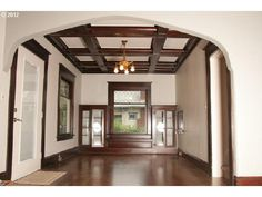 1912 Home/Office in Hollywood/Rose City area. Coffered ceilings, built-in hutch, Wood flooring, claw tub,front lead windows. New Energy Efffieicnt windows, kitchen cabinets and flooring.
