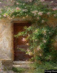 Greg Olsen - Door to Paradise