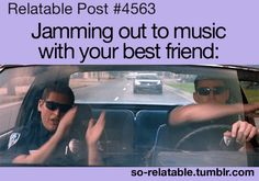 or by myself in the patrol car....