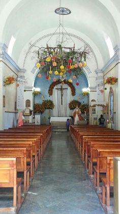 Así será #oaxaca #iglesia #flores #decoración