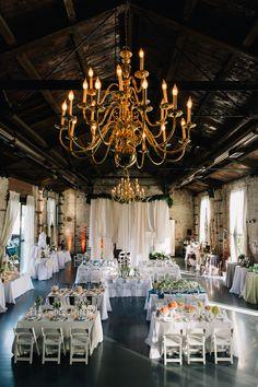 Green Building reception, photo by Cassidy Parker Smith http://ruffledblog.com/notwedding-nyc #weddingreception #weddingideas