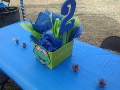 Ninja turtle diy centerpieces