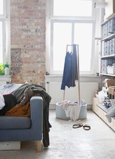 decor, clean, closetliv bowl1, bricks, exposed brick, cinematographi, baskets, design, bowls