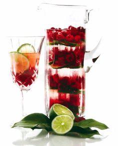 Raspberry spa water