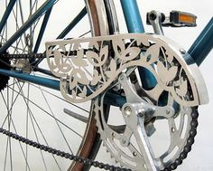 Pretty chain guards for your bike!