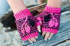 Ravelry: Alize Mitts pattern by Elena Nodel #knitting #mitts