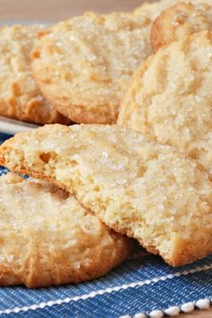 Chewy Sugar Cookies #Recipe