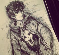 Ahh yes. And here we see a rare Nico Di Angelo smile folks.