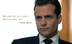 Harvey Specter- WWHD??