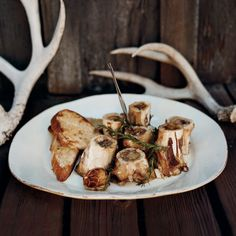 Grilled Marrow Bones