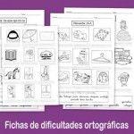 Recursos para el aula; Fichas de dificultades ortográficas