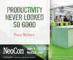 We have to agree! Place Matters. #NeoCon14