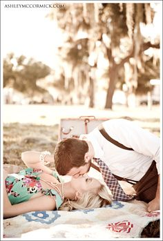 Vintage Engagement Photos!