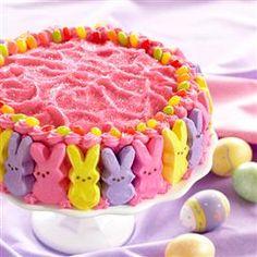 Hippity Hop Easter Bunny Cake