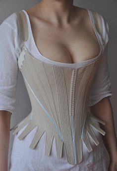 1780s;  but GORGEOUS shape, awesome photos and detail and construction shots.  I love the chemise, too!