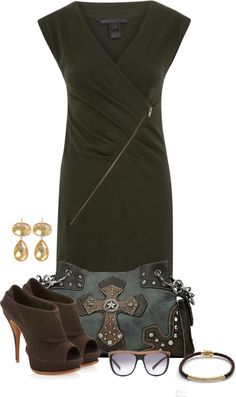 """Untitled #1285"" by lisa-holt ❤ liked on Polyvore"