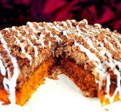 mom's pumpkin coffee cake