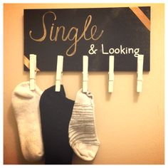 Single & Looking Laundry room DIY