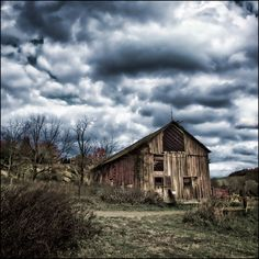 I love old barns!