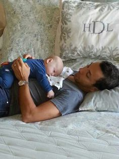 Backstreet Boys Howie D and his new baby son