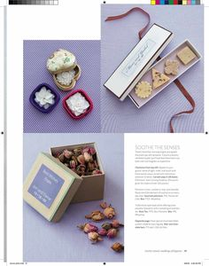 Soap Carvings Featured in Martha Stewart Wedding Magazine