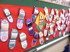 Text what you did this summer cell phones for back to school night.  So easy!