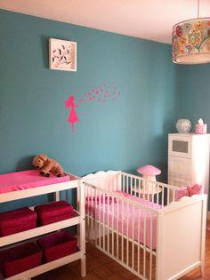Babykamer meisje on pinterest 19 pins - Kleur babykamer meisje ...