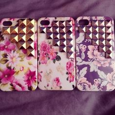 Love these studded cases