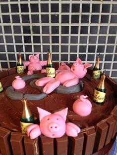 30th birthday cake pig roast, piggi birthday, pig cake, 30th birthday, birthday cakes