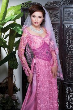 I would redo the styling for this stunning ao dai
