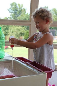 water table play // play at home mom