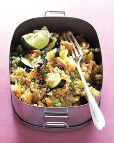 Quinoa Salad with Toasted Almonds Recipe
