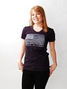 CHINA by RAYGUN -  Made in China    Wear with pride to your next union meeting!
