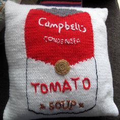 Campbell's Soup Can Pillow