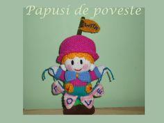 Papusa handmade - model: Gift Doll. www.camillestudio.wordpress.com