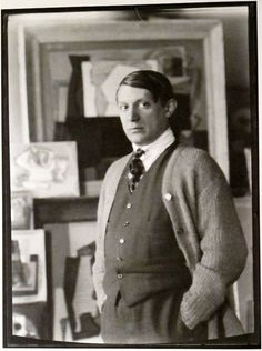 Man Ray: Pablo Picasso, Paris, 1921