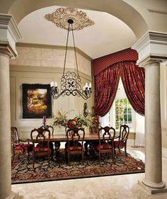 Home Interior Decorator Dallas | Interior Decorating Dining Rooms | Wesley-Wayne Interiors