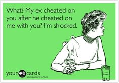 once a cheater, always a cheater!! Truth!!